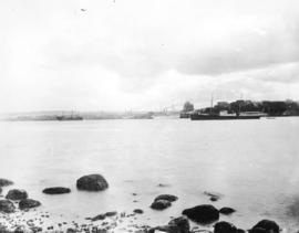 [View of Vancouver from Deadman's Island]