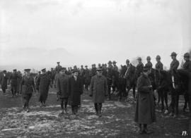 29th Battalion [inspection of mounted unit]