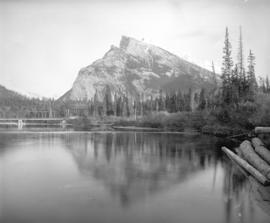 [View of Mount Rundle]
