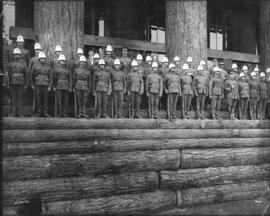 [6th Regiment, The Duke of Connaught's Own Rifles visit the Alaska-Yukon-Pacific Exposition]