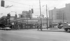 Robson and Howe [Streets - S.E. Corner]