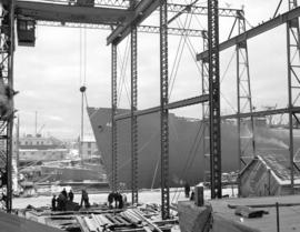Hull 46 in drydock