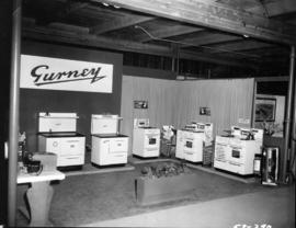 Gurney display of stoves