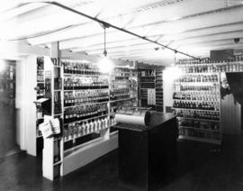 Interior of Knowlton's Drug Store [15 Hastings Street East]