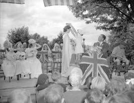 A.R.P. District No. 16 celebration [showing the] crowning of the queen