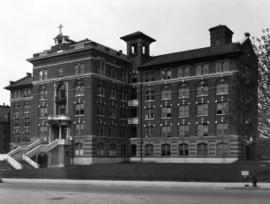 [Exterior of St. Paul's Hospital - 1081 Burrard Street]