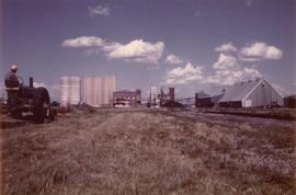 View of Canadian Sugar Factories, Picture Butte refinery