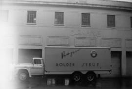 1960 GMC 12 ton load truck(last delivery truck owned by co. [BC Sugar Refinery Co. Ltd.])