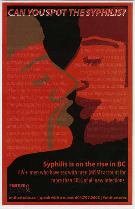 Can you spot the syphilis? : syphilis is on the rise in BC : Positive Living Society of British C...
