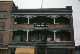 The Hillington, 1700 block Franklin Street, site of aborted Chinatown, Vancouver