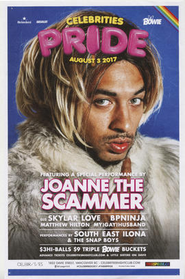 Celebrities : August 3, 2017 : Pride featuring a special performance by Joanne the scammer