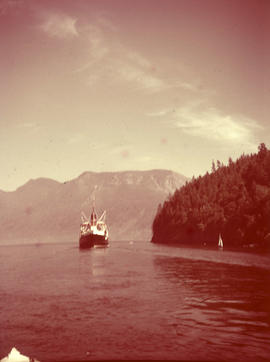 "Union Steamship ""Lady Alexandra"" in Snug Cove, Bowen Island"
