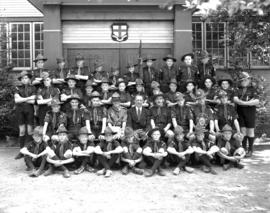 St. George's School Scout Troop - Summer 1938