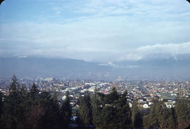 [View of Vancouver from Little Mountain]