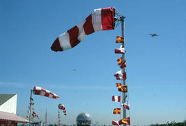 Fly-past of planes from Abbotsford Air show
