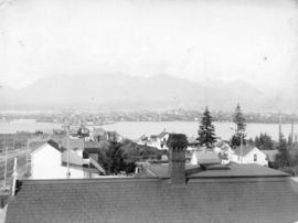 [Looking north from 7th Avenue just east of Westminster Avenue (Main Street)]