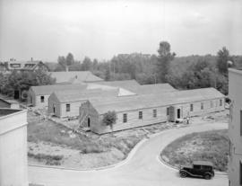 Shaughnessy Hospital pre-fabricated buildings [under construction]