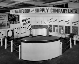 Inlaid Floor and Supply Co. display of tile and flooring products
