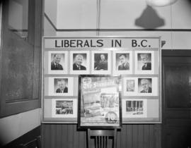 "[Liberals in B.C. display for ""The Standard"" newspaper]"