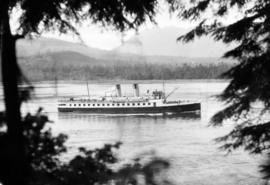 "Union S.S. Co. of B.C. - T.S.S. ""Lady Cynthia"""