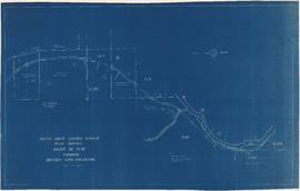 Plan showing right-of-way through District Lots 2421, 1531, 2498