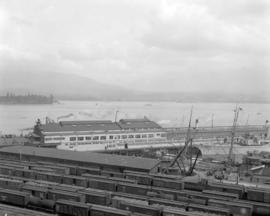 "Vancouver Harbour - C.P.R. Dock [Pier ""D"" and tracks]"
