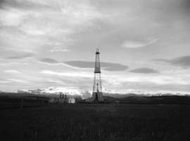 Turner Valley Oil - [Drilling Tower]