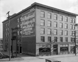 A. Macdonald and Company Limited Wholesale Grocers [at 840 Cambie Street]