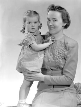 Mrs. Julia Gibson and baby Ann