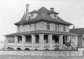 [The house at 2293 West 2nd Avenue after construction completed]
