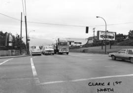 Clark [Drive] and 1st [Avenue looking] north