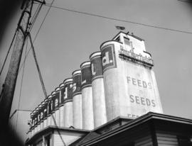 [View of Buckerfield's elevator near] Pacific Terminal