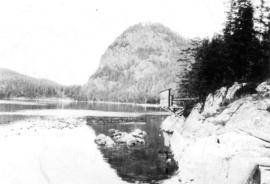 [View of shoreline, Stuart Island, B.C.]