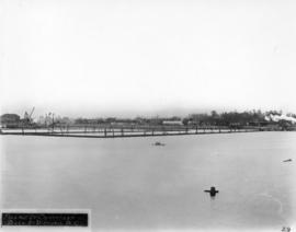 Filling of government dock at Victoria, B.C. [Victoria outer dock]