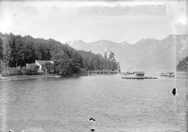 [View of Bowen Island from head of Snug Cove]