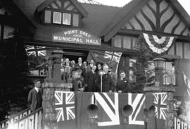 Viscount Willingdon visit, at Point Grey Municipal Hall