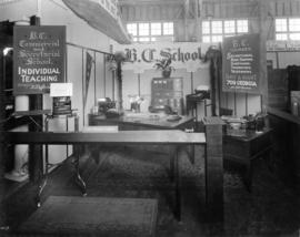 B.C. Commercial and Secretarial School display