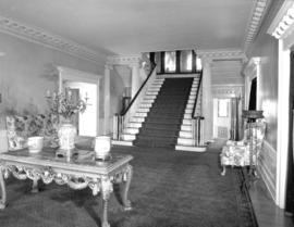 Hycroft [hall and staircase]