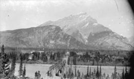 Banff townsite, from sanitarium