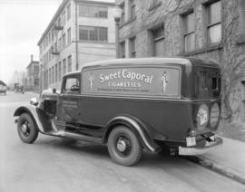 "Imperial Tobacco Company ""Sweet Caporal Cigarettes"" truck"