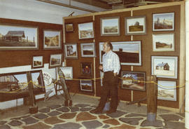 Roberts display of art, 1972 P.N.E. Wonderful World of Art show