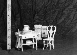 [Furniture from Colonel Broome's miniature house]