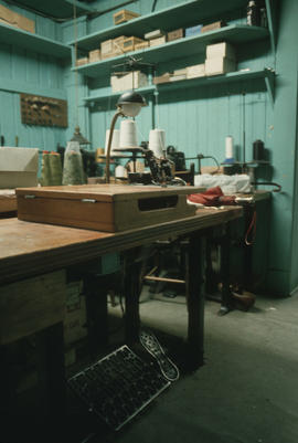 Sewing machine at Wing Hing Dry Goods