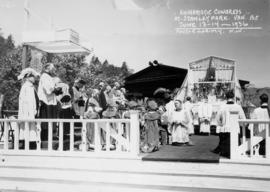 Eucharistic Congress, Roman Catholic, near Lumberman's Arch Stanley Park, Sunday, June 14th 1936