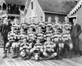 V.R.C. [Vancouver Rowing Club] champion rugby Fifteen 1910-11