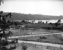 Liquor Board picnic [view from atop water tower, joins with CVA 99-2552]