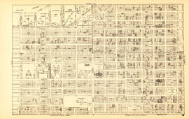Sheet 15 : Oak Street to Main Street and False Creek to Sixteenth Avenue