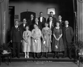 Committee [Group Photograph] - B.C. Electric Social Club Dance.  April 1st 1921