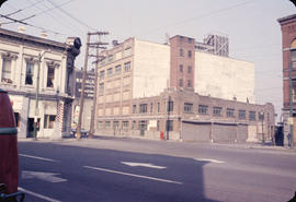 [View of Water Street - Alhambra Hotel and 3rd Malkin Warehouse visible]