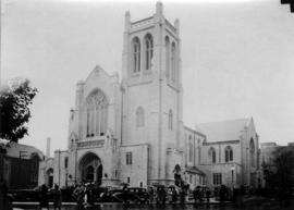 [St. Andrew's-Wesley United Church on Burrard Street at Nelson Street]